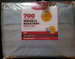 700 thread count Full Size Sheet Set