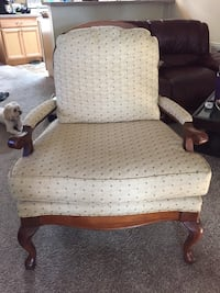 white and brown wooden armchair Ocala, 34476