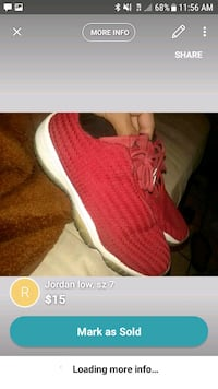 pair of pink knitted shoes screenshot El Paso, 79928