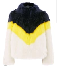 New medium faux fur jacket 548 km