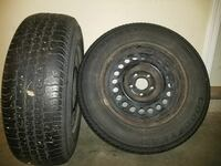 WINTER TIRES 195/70/14 Good Year Conquest Tires Langley, V2Y
