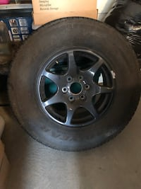 Tire and Rim for Chevy truck 4 wheel drive