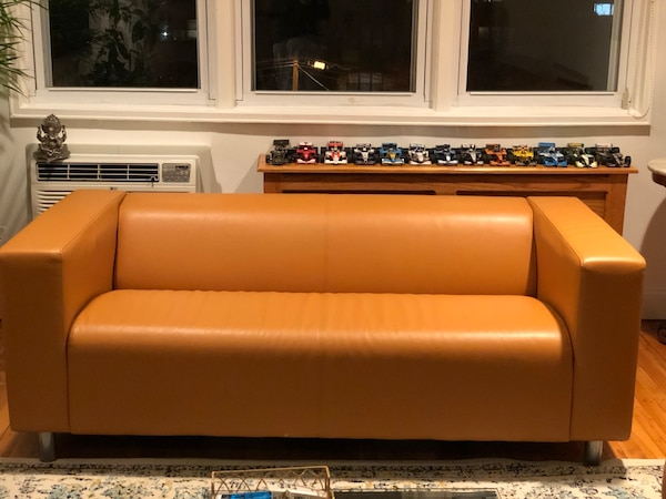 Leather sofa 1 year old
