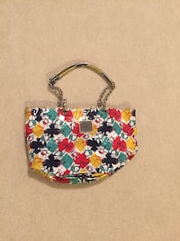 white, red, and yellow floral handbag Richmond, V7E 6A5