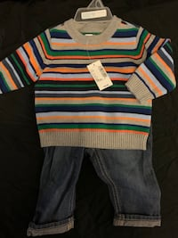 2 Baby Boy Outfits Size 3-6months *Brand New*