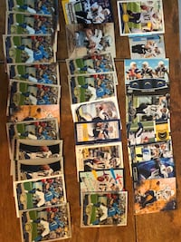 philip rivers 28 card football lot qb chargers