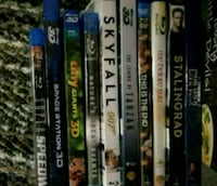 10 Blu-ray movies for $25  Miami, 33179