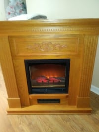 Electric fireplace with blow heater Bluff City, 37618