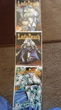Lady Death: The Odyssey 2,3,4 of 4 comics Beaverton, 97005