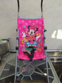 pink and white Minnie Mouse lightweight stroller San Fernando, 91340