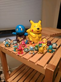 assorted color pokemo  plastic toys lot Washington, 20002