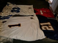 NFL Jerseys and NBA Jerseys size 58