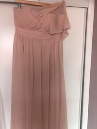 Bridesmaid Dress in Lush Pink