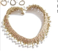 Gold and diamond studded necklace Chattanooga, 37411