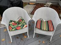 2 wicker chairs North Potomac, 20878