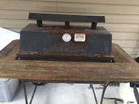 BQ Gas Grill. Needs cleaning and a gas line hook up.