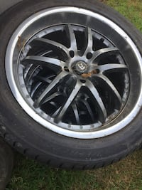 18 inch rims fit Altima and mustang