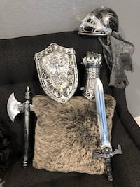 KNIGHT COSTUME ACCESSORY SET FOR KIDS Santa Ana