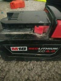 Milwaukee Battery XC 4.0 30 mi