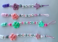Customize pacifier clip pacifier holder Richmond, V6Y