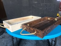 Handmade Wooden Serving Trays