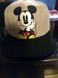 Mickey Mouse hat Gray snapback hat $20.