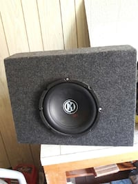 gray and black speaker 10 inch whith box  Montgomery, 36107