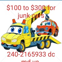 Cash for junk cars suv and trucks  Hyattsville, 20783