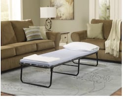 GUEST BED TWIN SIZE $45, SINGLE GUEST BED $55