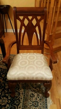 white and brown wooden padded chair Richmond Hill, L4E 4J4