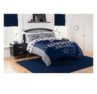 TEAM NFL DALLAS  COWBOYS 3 piece- BED IN A BAG SET. FULL/QUEEN. Burke, 22015