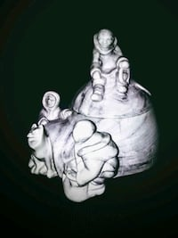 Inuit Family Igloo trinket box Surrey, V3S 4T7
