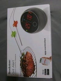 Grill alert Bluetooth thermometer