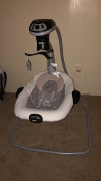Graco® DuetConnect® LX with Multi-Direction Baby Swing - Asher Clinton, 20735