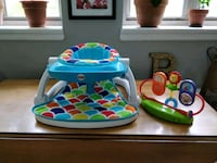 Fisher-Price® Sit-Me-Up Seat chair w Toy Tray Garden City, 11530