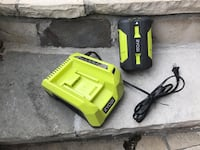 Ryobi 40 V battery and charger new Toronto, M3A 1S9