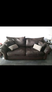Microsuede  Pull Out Sofa