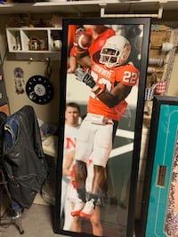 Oklahoma State Player With Frame