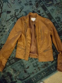 Brown leather jacket Fairfax, 22030