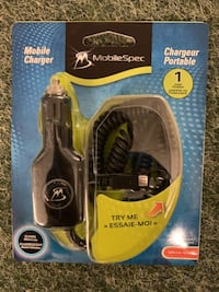 Android car charger Glow In The Dark