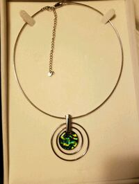 "Sarah's Hope ""Etayehu"" Pendant w/ Custom Jewelry Box"