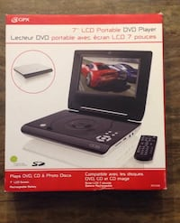LCD Portable DVD player **on hold**