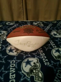 Autographed jerry rice ball  Bakersfield, 93314