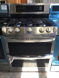 """LG 30"""" Double Oven Gas Convection Stove Stainless Steel  Palisades Park, 07650"""