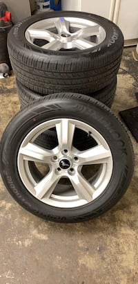 2019 mustang wheels and tires new North Chesterfield, 23237