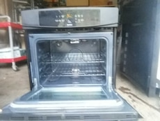 black kenmore convection oven