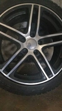 Winter tires and Rims 4set 17inc Toronto, M9R 3T5