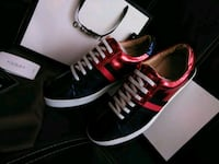 Gucci Ace Red Blue Sneakers size 9/9.5 Gaithersburg, 20879