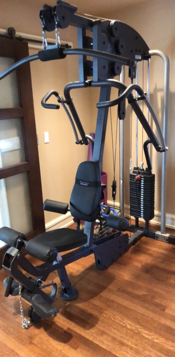 Multi Gym By Body Solid W 200 Weight Stack And Leg Press Station Not Shown
