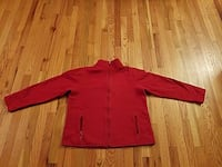 Red zip-up sweater Chicago, 60634